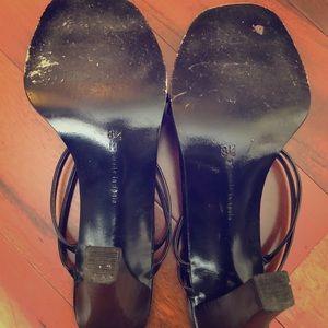 Calvin Klein Black Sandal/Heels